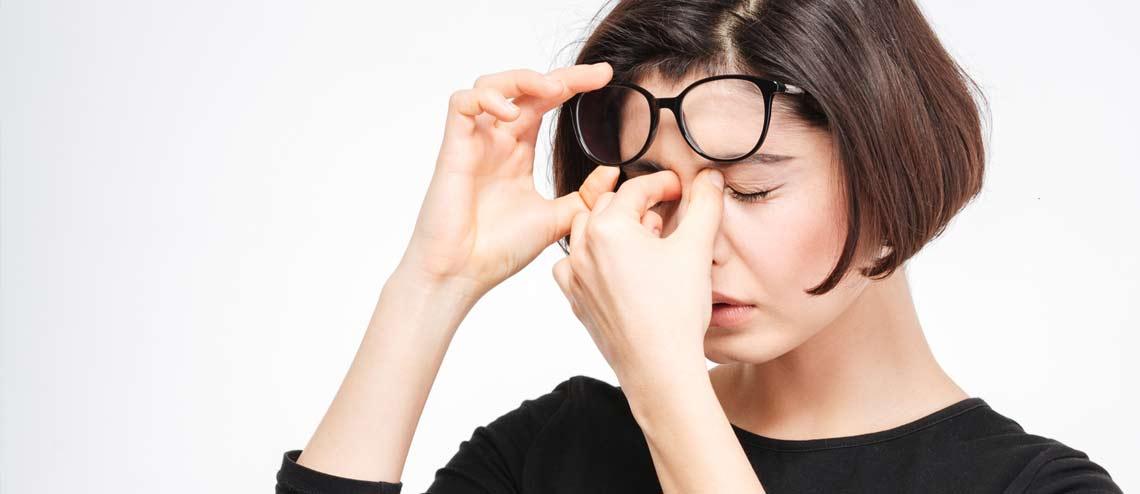 Symptome bei Trockenen Augen